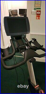 Life Fitness IC7 Spin Bike with Zwift linked monitor (adapted)