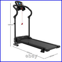 Loefme Electric Treadmill Home Gym Fitness Indoor Folding Running Machine with LCD