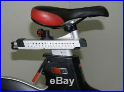 Matrix Fitness IC7 Indoor Cycle Bike, cleaned, fully working, not Keiser