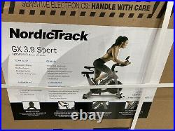 Nordic Track GX 3.9 Training Indoor Exercise Bike Home Gym Workout Fitness Bike