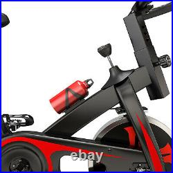 PRO Indoor Training Fitness Exercise Bike Cycle Home Gym 10KG Spinning Flywheel
