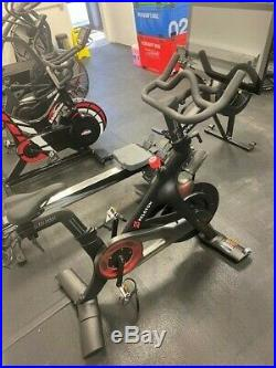 Peloton spin exercise bike with Screen and Weights