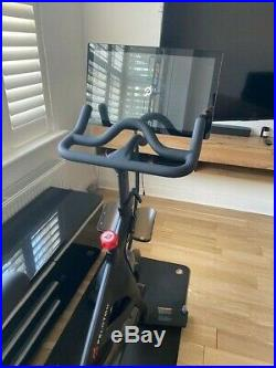 Peloton spin exercise bike with Screen spin bike crossfit home gym