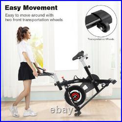 Ruby Red Exercise Bike Home Gym Bicycle Cycling Cardio Fitness Training Indoor