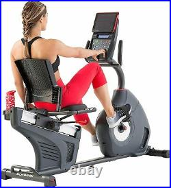 Schwinn Fitness 270 Home Workout Stationary Cycling Exercise Bike with LCD Display