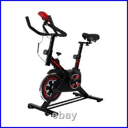 Spin Bike Home Gym Exercise Fitness Indoor Workout Cycling Aerobic Machine Black