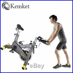 Spin Bike Indoor Cycling Aerobic Exercise Bicycle Fitness Gym By Kemket- A600