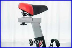 Spin Bike with Hand Pulse 8kg flywheel Cardio Fitness Training Gym Bicycle