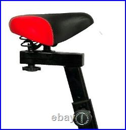 Spin Excercise Bike Fitness Cardio Training Gym Home Sports Fat Burn Sport Red