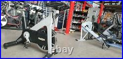 Technogym Exercise Bike Chain driven with Monitor. Commercial Gym Equipment