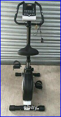 Upright Exercise Bike for Cardio Workout Home Gym Fitness Training DKN AM-E