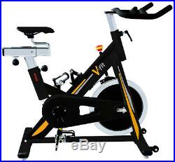 V-fit ATC-16/3 Aerobic Training Cycle Gym Spin Exercise Bike r. R. P £450.00