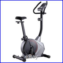 VidaXL Magnetic Exercise Bike with Pulse Measurement Fitness Cycle White/Grey