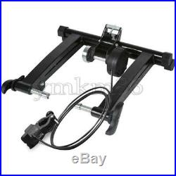 Wireless Black Indr Bicycle Bike Trainer Exercise Fitness Stand 24-29 Inch Fast